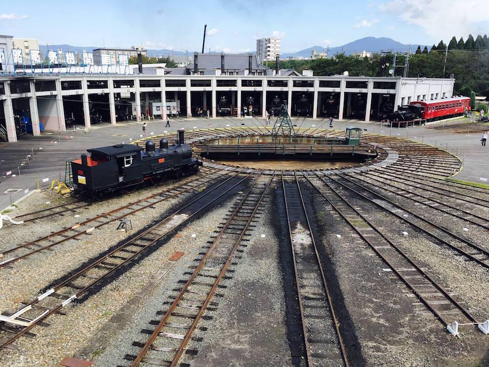 梅小路の京都鉄道博物館