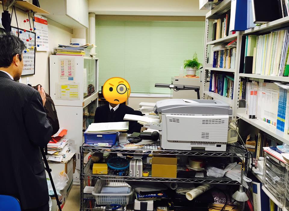 岡山大学で頭が沸騰しそうになる