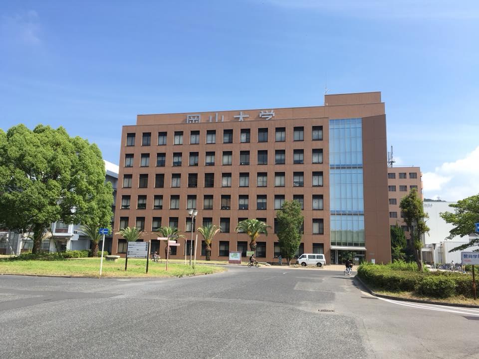 岡山大学で三たび学食へ
