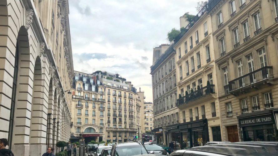 乳幼児連れのパリ旅行3(1日め)