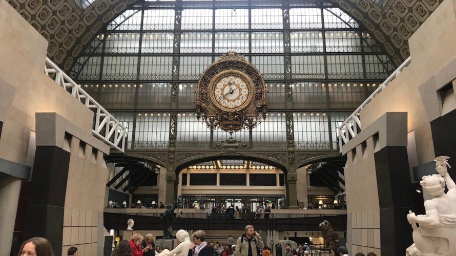 乳幼児連れのパリ旅行7(3日め・オルセー美術館)