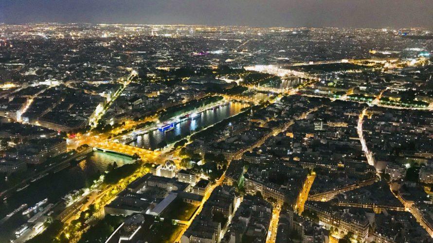 乳幼児連れのパリ旅行16(5日め・サンシュルピス教会〜夜のエッフェル塔)