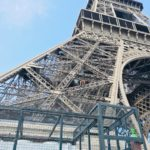 乳幼児連れのパリ旅行13(5日め・朝のエッフェル塔周辺)